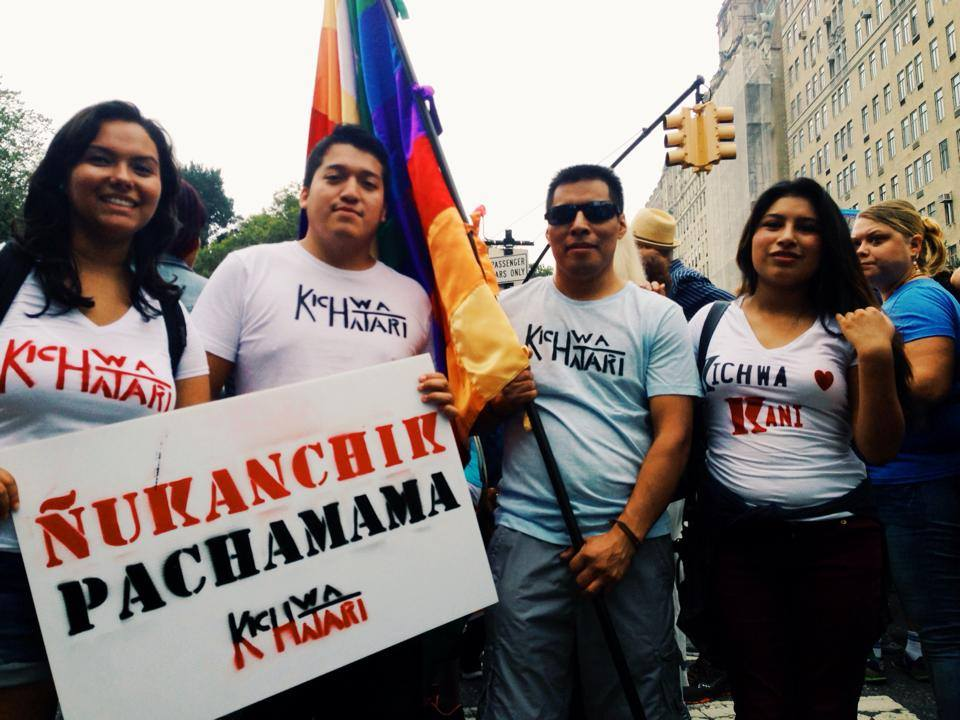 Kichwa Hatari at People's Climate March NYC 2014