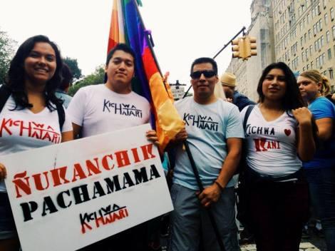Kichwa Hatari at People's Climate March NYC 2014