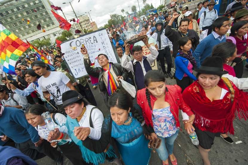 Ecuador En Un MomentoCrucial