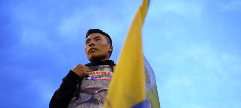 LEVANTAMIENTO INDIGENA ECUATORIANA2015