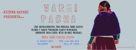 WARMI PACHA COVER